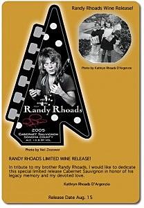 Randy Rhoads Wine