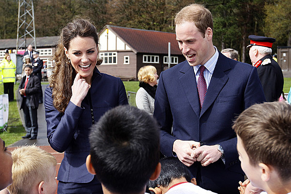 Prince William And Kate Middleton Visit Darwen