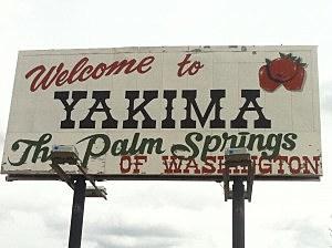 Yakima sign