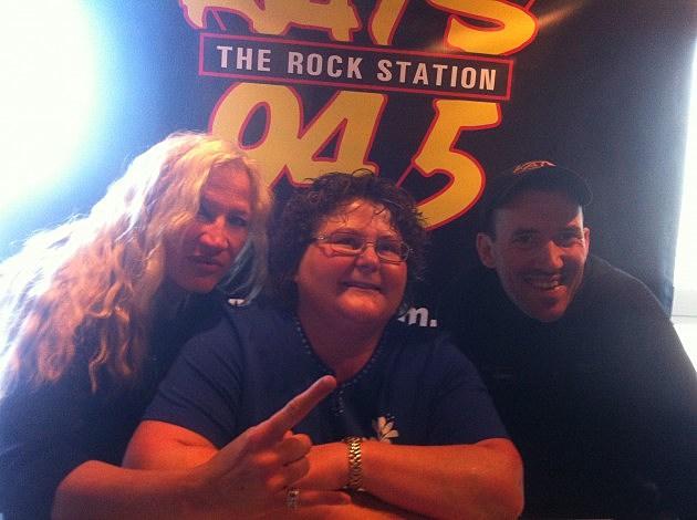 L-R: Kelly west, Carlene Johnson, Todd Lyons