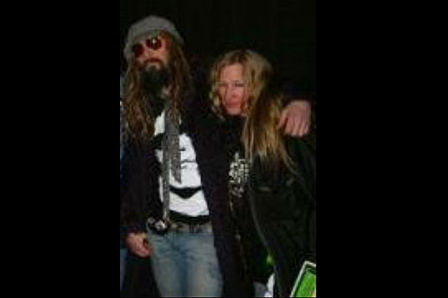 Kelly West and Rob Zombie