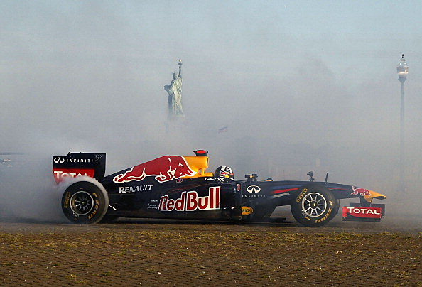 Red Bull Racing Formula One Visits The New York Metro Area