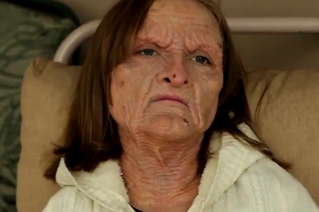 11-Year-Old Wears Creepy Witch Prosthetic Like A Pro