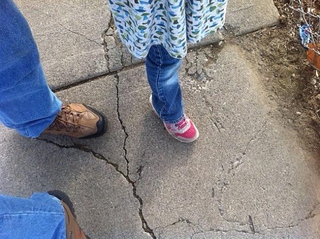 Don't Step on the cracks!