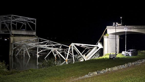 I-5 Bridge Collapses On Skagit River In Washington