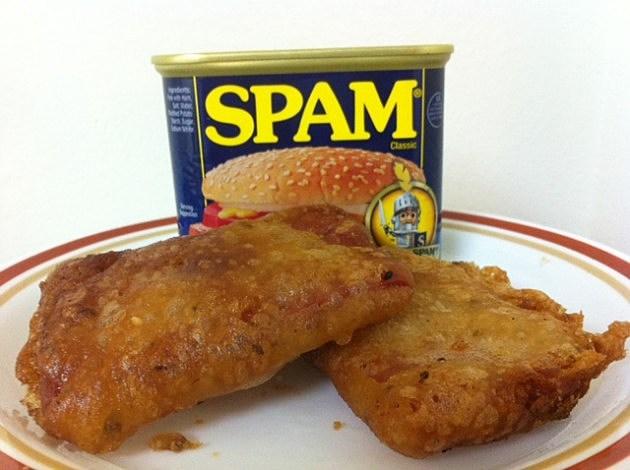 beer battered spam