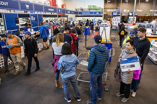 Holiday Shopping Season Begins As Shoppers Look For Deals On Black Friday